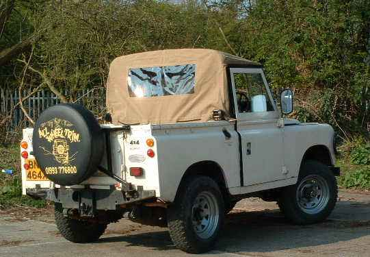 Land Rover 88 with a Canvas Truck